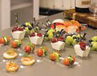 Pro Plastic Canape Appetiser Plates Bowl Dish Trays Buffet Cutlery Spoon Dessert