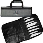 Chef Code Chef Knife Bag Only, 8 Knife Roll Bag with Accessory Mesh Pockets