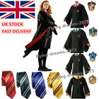 Harry Potter Cape Cloak Unisex Gryffindor Robe Tie Halloween Cosplay Costumes