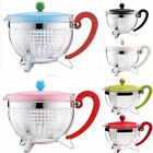 Bodum 8 Cup 1.0L Teapot 34oz Filter Brew Loose Leaf Green Herbal Tea