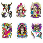 3D Luminous Tattoo Sticker Skull Halloween Women Men Waterproof Body Decal Art $1.87 USD