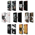 OFFICIAL AMC THE WALKING DEAD LOGO LEATHER BOOK WALLET CASE FOR SONY PHONES 1