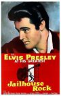 Jailhouse Rock Elvis Presley M.G.M. Vintage Movie Poster Reproduction