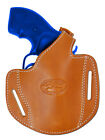 "New Barsony Tan Leather Pancake Holster for Taurus 2"" Snub Nose Revolvers"