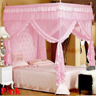 Princess 4 Corner Post Bed Canopy Mosquito Netting Single Double King All Size