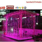 1800 LED Fairy Curtain String light for Xmas Christmas Wedding Party Connectable