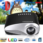 MINI 1080P HD 3D LED Projector Home Theater Cinema for Iphone Android Labtop PC