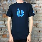 ES Cubed Short sleeve T shirt Navy Brand New Size S