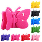 Kids Child Butterfly Proof Case EVA Foam Stand Cover For iPad Air Mini 1 2 3 4