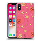 HEAD CASE DESIGNS LIP PATTERNS SOFT GEL CASE FOR APPLE iPHONE X