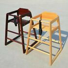 Stackable Wooden Baby Feeding Highchair High Chair home & commercial restaurants