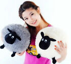 Plush Toys Cute Stuffed Soft Sheep Character Kids Baby Toy Gift Doll White/Gray