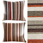 Horizontal Striped Scatter Cushion Cover in Rich & Soft Chenille Pattern