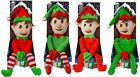49cm Cute Christmas Plush Elf With Hat. Christmas Decoration / Stocking Filler