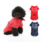 Brooklyn Coat Pet Dog Clothes Red Navy SM ~ XL Puppy Jacket Clothing Best