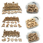 Animal Natural Beech Wood Teething Beads Kit DIY Baby Teether Jewelry Making