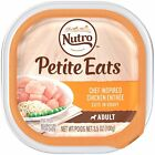 NUTRO Small Breed Adult PETITE EATS Chef Inspired Chicken Entrée Cuts in Gravy