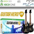 Guitar Hero Live - Guitar Controllers Straps & Dongles Game Not Included New New