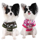 T-shirts For Dogs Camouflage Coat Pet Cat Hoodie Apparel Jacket Puppy Clothing