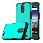 For ZTE Maven 3 / Z835 Phone Case Hybrid Shockproof Slim TPU+PC Hard Armor Cover