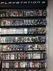 Playstation 3 Games 240+ to Choose From Drop Down List Complete A thru Z