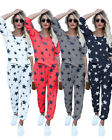 Women Girls Casual Star Print Full Tracksuit Long Sleeve 2PCs Pajamas Top+Pant