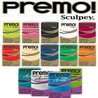 Premo & Accents 2oz 57g Polymer Clay Sculpey -BEST COLOURS -10+ Blocks Post FREE