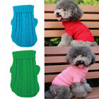 Charm Unisex Pet Winter Clothes Puppy Dog Cat Vest T Shirt Coat Sweater Appare