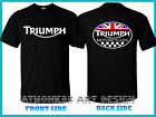 TRIUMPH T-SHIRT TRIUMPH MOTORCYCLE UNISEX T-SHIRT $26.36 CAD on eBay