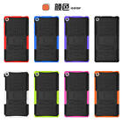 For Lenovo Tab 3 Case Cover PC TPU 2in1 Rugged Armor Hybrid Back Case Kickstand