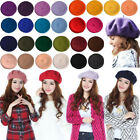 Kyпить Summer French Beret Hats For Women Girls Beanies Discount On Sale Blue Red Brown на еВаy.соm