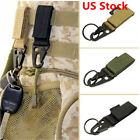 Outdoor Military Key Hook Webbing Molle Buckle Hanging Belt Carabiner Clip GIFT