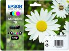 Epson 18 - T1806 Multi Pack Original OEM Inkjet Cartridges (Set of 4) B,C,M