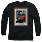 Star Trek TNG EMPLOYEE OF MONTH Riker Number One Long Sleeve T-Shirt S-3XL on eBay