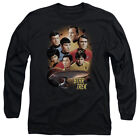 Star Trek Original Series Cast HEART OF THE ENTERPRISE Long Sleeve T-Shirt S-3XL