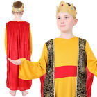 CHILDS KIDS WISE MAN COSTUME NATIVITY KING FANCY DRESS  SCHOOL PLAY CASPAR