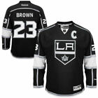 Reebok Dustin Brown Los Angeles Kings Mens Black Home Premier Jersey NHL