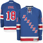 Reebok Marc Staal New York Rangers Mens Blue Home Premier Jersey NHL