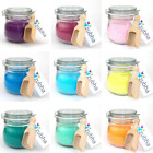Aromatherapy Bath Salts with Essential Oils, Kilner Jar Gift Set, Refill Packs