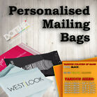 PERSONALISED MAILING BAGS • POSTAL CUSTOM PRINTED • POLYTHENE SHOP LOGO