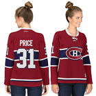 Reebok Carey Price Montreal Canadiens Womens Red Premier Player Jersey