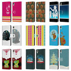 HEAD CASE MIX CHRISTMAS COLLECTION LEATHER BOOK CASE FOR HTC DESIRE 10 LIFESTYLE