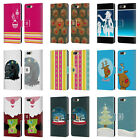 HEAD CASE DESIGNS MIX CHRISTMAS COLLECTION LEATHER BOOK CASE FOR ONEPLUS 5