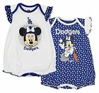 MLB Infants Los Angeles Dodgers Minnie Mouse 2-Pack Creeper Set