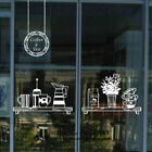 Coffee Cafe Restaurant Shop Wall Stickers Window Sign Decor Vinyl Decal Deco