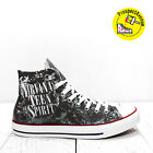 Nirvana Teen Spirit Custom Converse All Star sneakers handmade rock quote print