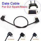 Data Cables Wire light-ning/Micro USB/TypeC for DJI Spark / Mavic Pro Controller
