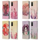 HEAD CASE DESIGNS WOODLAND ANIMALS LEATHER BOOK WALLET CASE FOR SAMSUNG PHONES 1