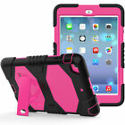 "For New iPad 2017 9.7"" 5th Gen Shockproof Hybrid Rubber With Stand Case Cover"