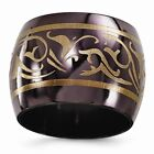 Edward Mirell Black Ti Domed Anodized Copper Color 16mm Band